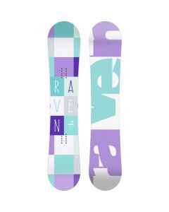 Placa Snowboard Raven Laura Multicolor 140