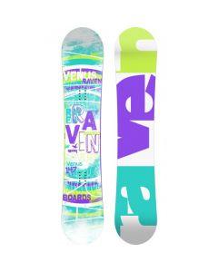 Placa Snowboard Raven Venus Blue/Green 138