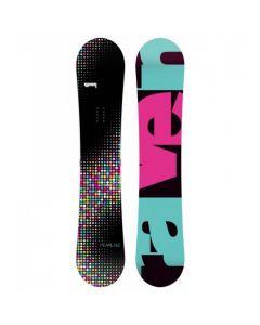 Placa Snowboard Raven Pearl Multicolor 145