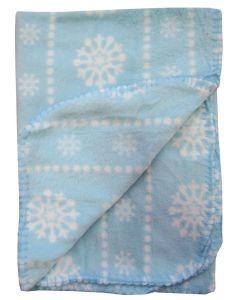 Patura polar imprimata, PPB05 stelute rotunde bleu, Primii Pasi