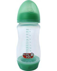 Biberon gat larg 240 ml, baza cu valva anticolici