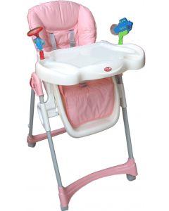 Scaun Masa copil cu jucarii, roz, Primii Pasi