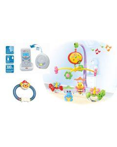 Set camera bebe baiat, SCB, Primii Pasi, albastru