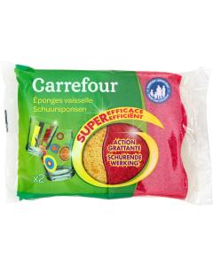 Burete abraziv Carrefour, 2 buc.
