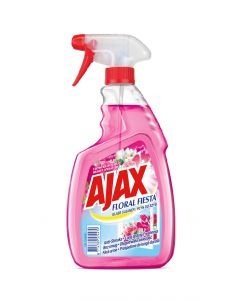 Detergent geamuri cu pulverizator Ajax Floral Fiesta Pink, 500 ml