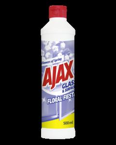 Detergent geamuri flacon geam Ajax Flowers of Spring, 500 ml