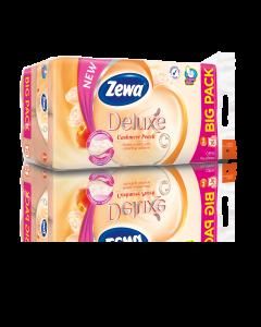 Hartie igienica Zewa Deluxe Piersica, 3 straturi, 16 role