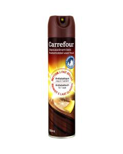 Spray pentru curatat mobila antistatic Carrefour, 300 ml