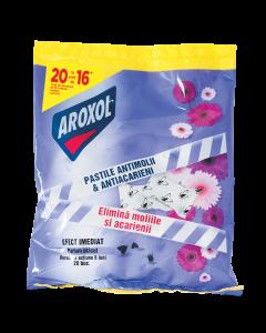 Pastile parfumate impotriva moliilor Aroxol, 20 buc