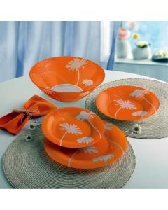 Set vesela 19 piese Thais Orange, Luminarc