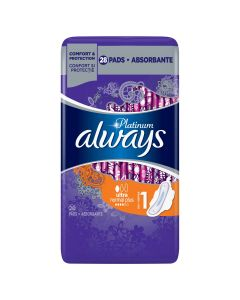 Absorbante Always Platinum Ultra Normal Plus, 28 buc