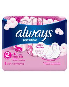 Absorbante Always Ultra Sensitive Normal, 8 buc