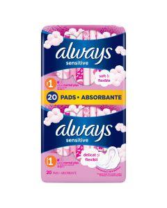 Absorbante Always Ultra Sensitive Normal, 20 buc