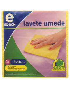 Lavete umede Epack, 3 buc.