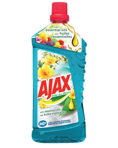 Detergent universal pentru pardoseli Ajax Floral Fiesta Lagoon, 1 L