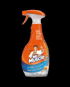 Solutie pentru curatat baia si toaleta Mr Muscle, 500 ml