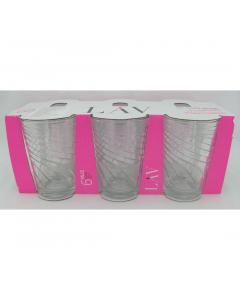 Set 6 pahare Filiz (silk) 205 ml
