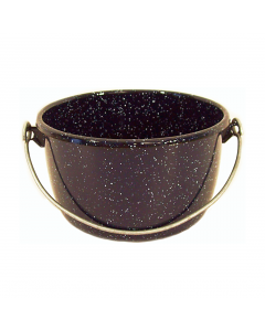 Ceaun cu maner sarma 18 cm, 2.5 L, negru