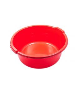 Lighean rotund, capacitate 15L, culoare rosu, Cyclops