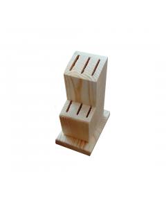 Suport lemn pentru 6 cutite