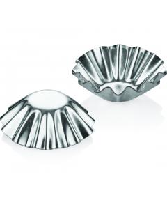 Set 6 forme mici metal pentru tarte