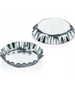 Set 6 forme mari metal pentru tarte