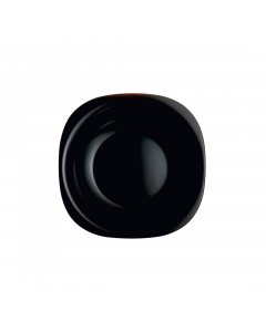 Farfurie desert 19 cm, Opal Carine, negru, Luminarc