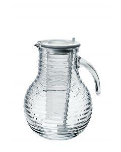 Carafa sticla 2L cu tub gheata Viva, Bormioli