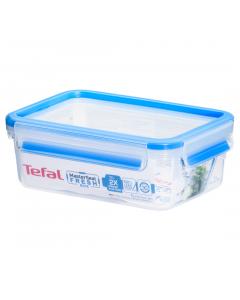 Caserola dreptunghiulara 1L, material plastic, Tefal