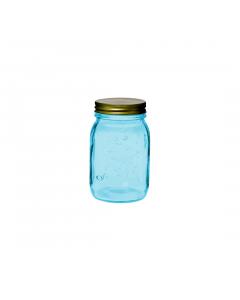 Borcan albastru capac 0.5 L