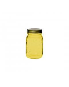 Borcan galben cu capac 0.5 L