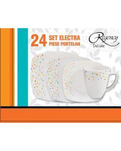 Set 24 piese portelan, Electra