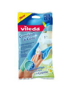 Manusi Comfort & Care M, Vileda, 2 bucati