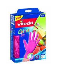 Set 50 manusi Colors M/L, Vileda