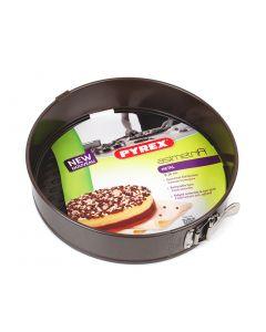 Tava tort rotunda + baza detasabila 26 cm, Pyrex