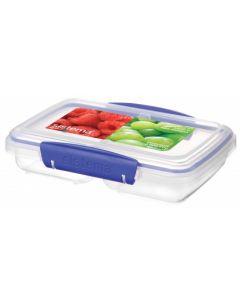 Cutie pentru alimente cu 2 compartimente 0.35 L, Klip-It Sistema