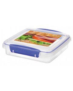 Cutie plastic sandwich 0.45 L, Sistema