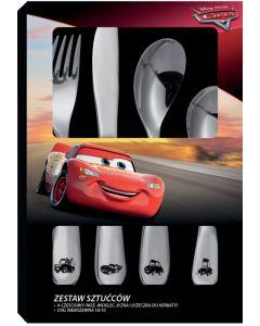 Set tacamuri copii 4 piese, Cars