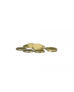 Set 10 capace borcan 370 ml/66 mm