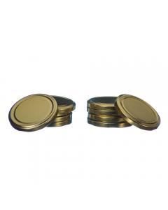 Set 10 capace borcan 720 ml/82 mm