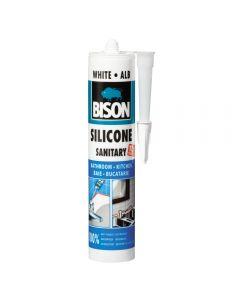 Silicon sanitar alb 280 ML, Bison