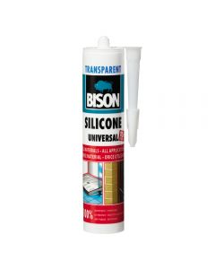 Silicon universal transparent 280 ML, Bison