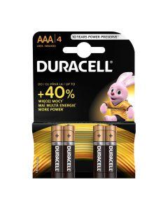 Set x 4 baterii AAA LR03, Duracell