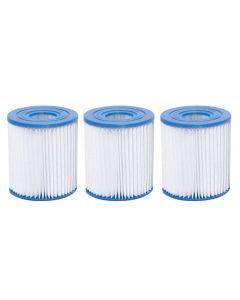 Set 3 filtre piscina