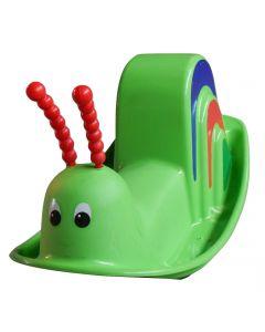 Balansoar in forma de melec, verde