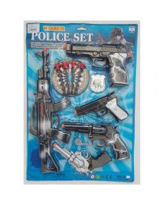 Set pistoale politie si tinta