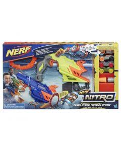 Set 2 lansatoare Duelfury Nitro, Nerf