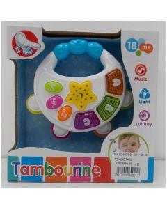 Tamburina bebe cu muzica si lumini