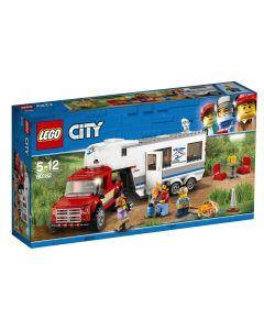 LEGO City Camioneta si rulota