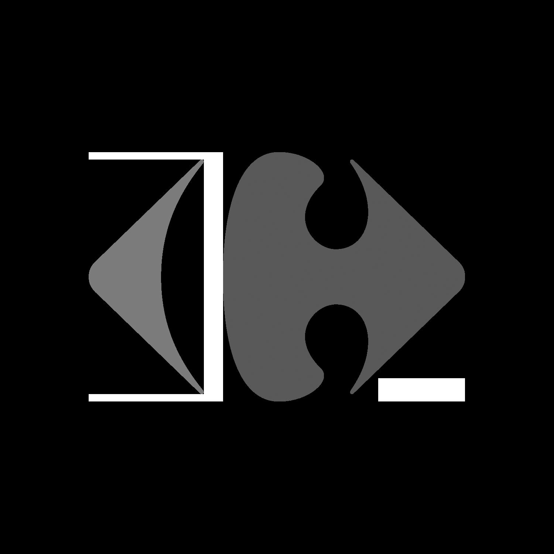 Troler ABS, 61 cm, 2 roti, negru, Carrefour